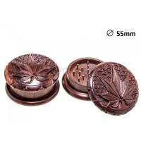 Гріндер Carved Leaf 2part 50mm
