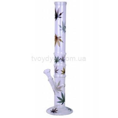 Бонг скляний Multi Leaf 40 см