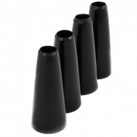 Одноразовые черные конусные мундштуки